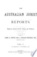 The Australian jurist reports Book PDF