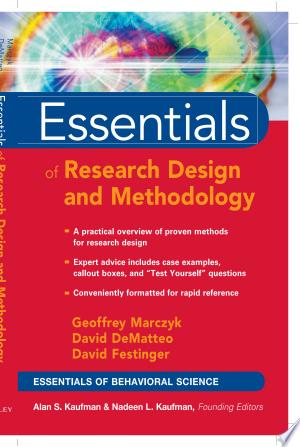 [FREE] Read Essentials of Research Design and Methodology Online PDF Books - Read Book Online