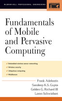 Fundamentals of Mobile and Pervasive Computing Book