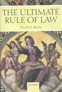 The Ultimate Rule of Law