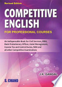 Competitive English  For Professional Courses