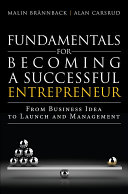 Fundamentals for Becoming a Successful Entrepreneur Pdf/ePub eBook