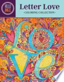 Hello Angel Letter Love Coloring Collection