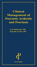 book cover - Clinical management of psoriatic arthritis and psoriasis.