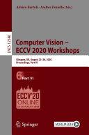 Computer Vision     ECCV 2020 Workshops