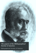 Bibliographical Society of America Papers