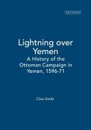 Lightning Over Yemen