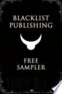 Blacklist Publishing  Free Sampler Book