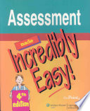 """""""Assessment Made Incredibly Easy!"""" by Lippincott Williams & Wilkins, Margaret Eckman"""