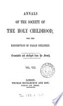 Annals of the Society of the Holy childhood