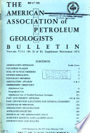 The American Association of Petroleum Geologists Bulletin