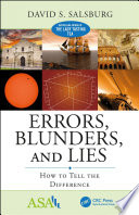 Errors  Blunders  and Lies