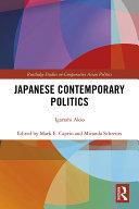Pdf Japanese Contemporary Politics Telecharger