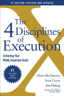 Pdf The 4 Disciplines of Execution: Revised and Updated Telecharger