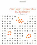 Small Group Communication in Organizations Book