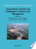 Living Rivers Trends And Challenges In Science And Management Book PDF