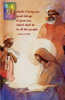 Christmas African American Nativity Bulletin Regular 2008 Package Of 50