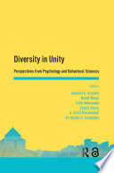 Diversity In Unity Perspectives From Psychology And Behavioral Sciences