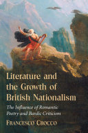 Literature and the Growth of British Nationalism