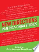 New Directions In Africa China Studies