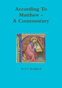 According To Matthew  A Commentary