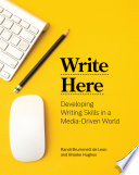 Write Here Developing Writing Skills In A Media Driven World