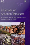 A Decade of Action in Transport