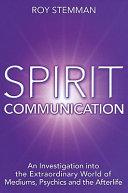 Pdf Spirit Communication