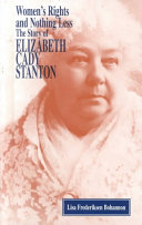 In Her Own Right The Life Of Elizabeth Cady Stanton [Pdf/ePub] eBook