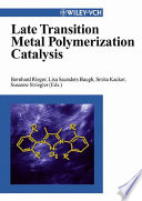 Late Transition Metal Polymerization Catalysis