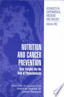 Nutrition And Cancer Prevention Book PDF