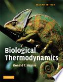 Biological Thermodynamics Book PDF