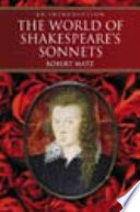 The World Of Shakespeare S Sonnets