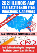 Pdf 2021 Illinois AMP Real Estate Exam Prep Questions & Answers Telecharger