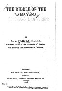 The Riddle of the Ramayana Book