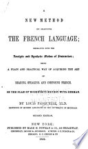 A new method of learning the French language...