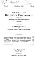 The American Journal Of Religious Psychology And Education