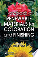 Handbook of Renewable Materials for Coloration and Finishing Book