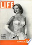 26 sept. 1949