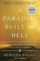A Paradise Built in Hell Pdf/ePub eBook