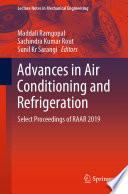 Advances in Air Conditioning and Refrigeration