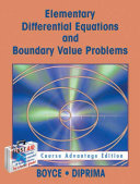Elementary Differential Equations with Boundary Value Problems   Course Advantage Edition with Student Solutions Manual Set