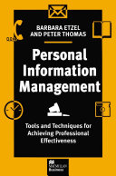 Personal Information Management [Pdf/ePub] eBook