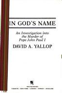 In God S Name Book PDF