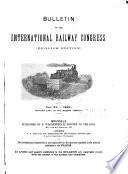 Bulletin of the International Railway Congress Association  English Edition