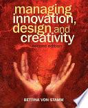 Managing Innovation  Design and Creativity