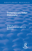 Pdf Revival: Contemporary Indian Philosophy (1936) Telecharger