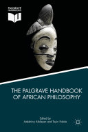 Pdf The Palgrave Handbook of African Philosophy Telecharger