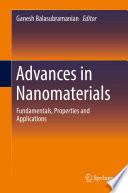 Advances in Nanomaterials Book