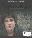 Cover of Psychology AU & NZ + Psychology AU & NZ Istudy with Cyberpsych Card